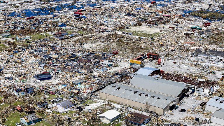 Bahamas, Hurricane Dorian, Marsh Harbor