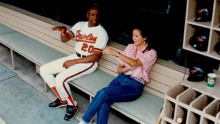 Janet Marie Smith, Frank Robinson, MLB