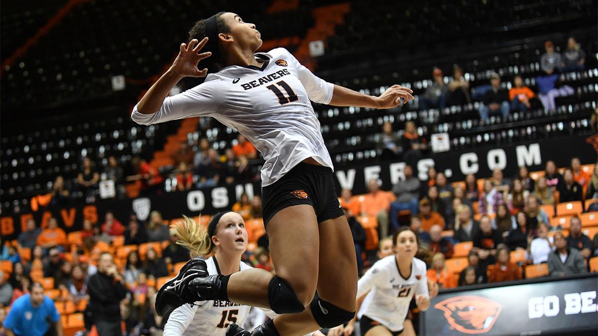 Lanesha Reagan, Oregon State, volleyball
