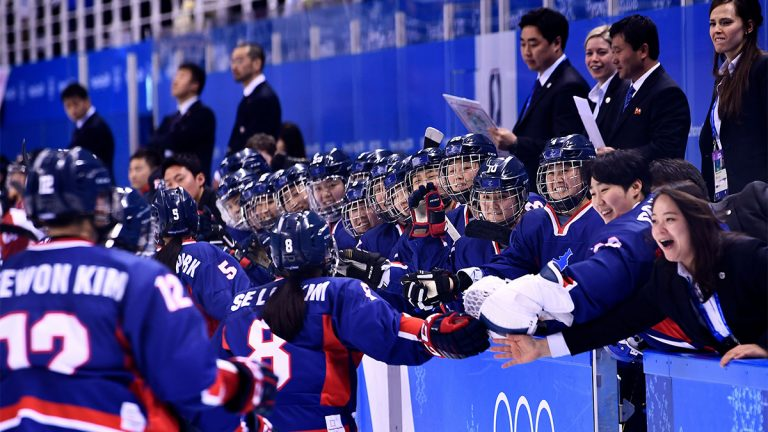 Unified hockey, South Korea, North Korea, Pyeongchang Olympics