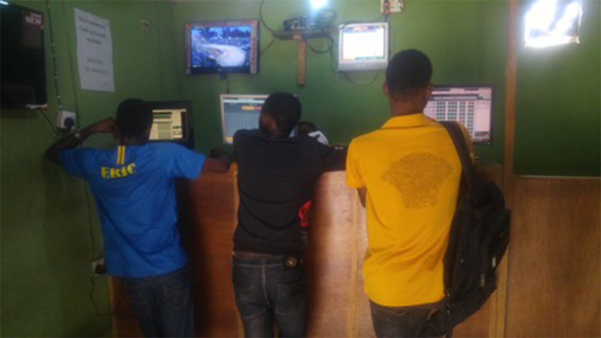 Betting, sports gambling, Nigeria
