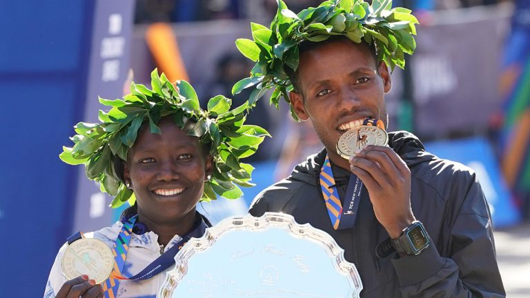 Mary Keitany, Lellisa Desisa, New York City Marathon
