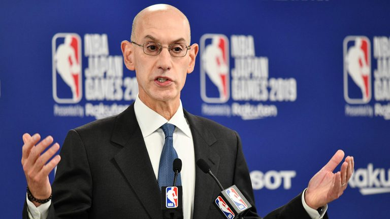 Adam Silver, NBA commissioner, China