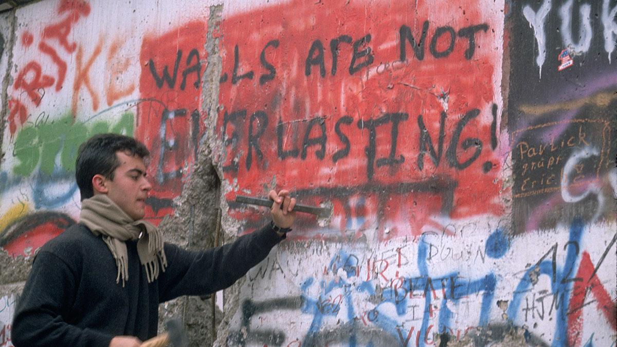 Berlin Wall, East Germany