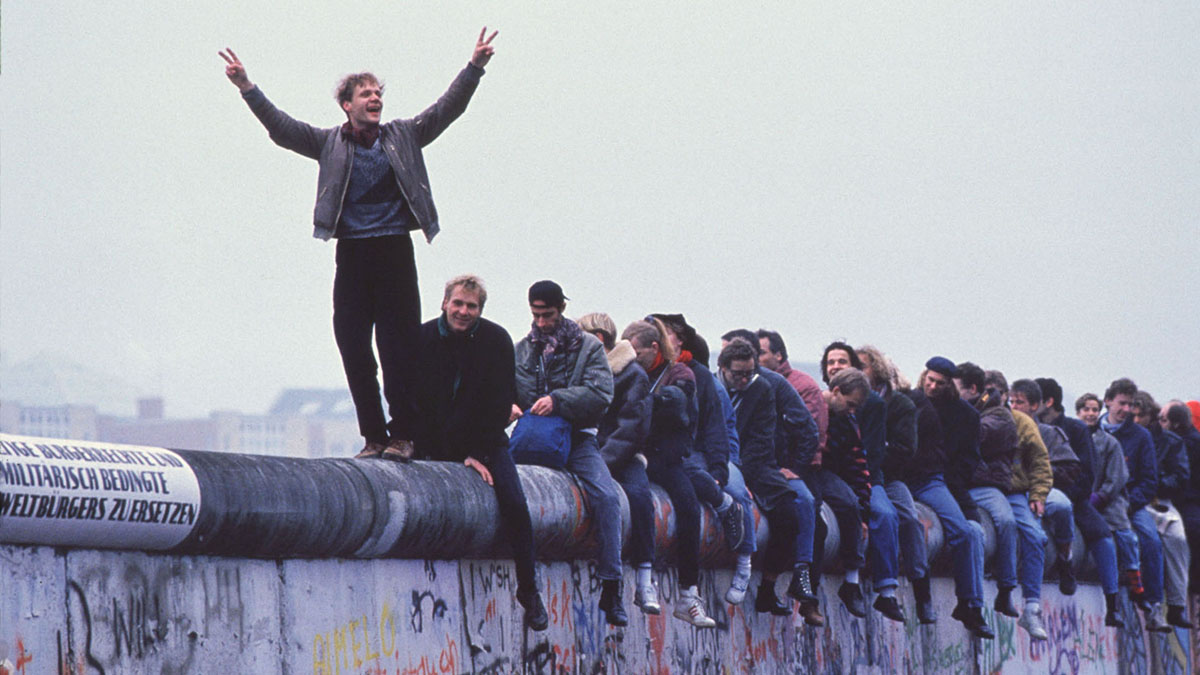 Berlin Wall, East Germany, West Germany