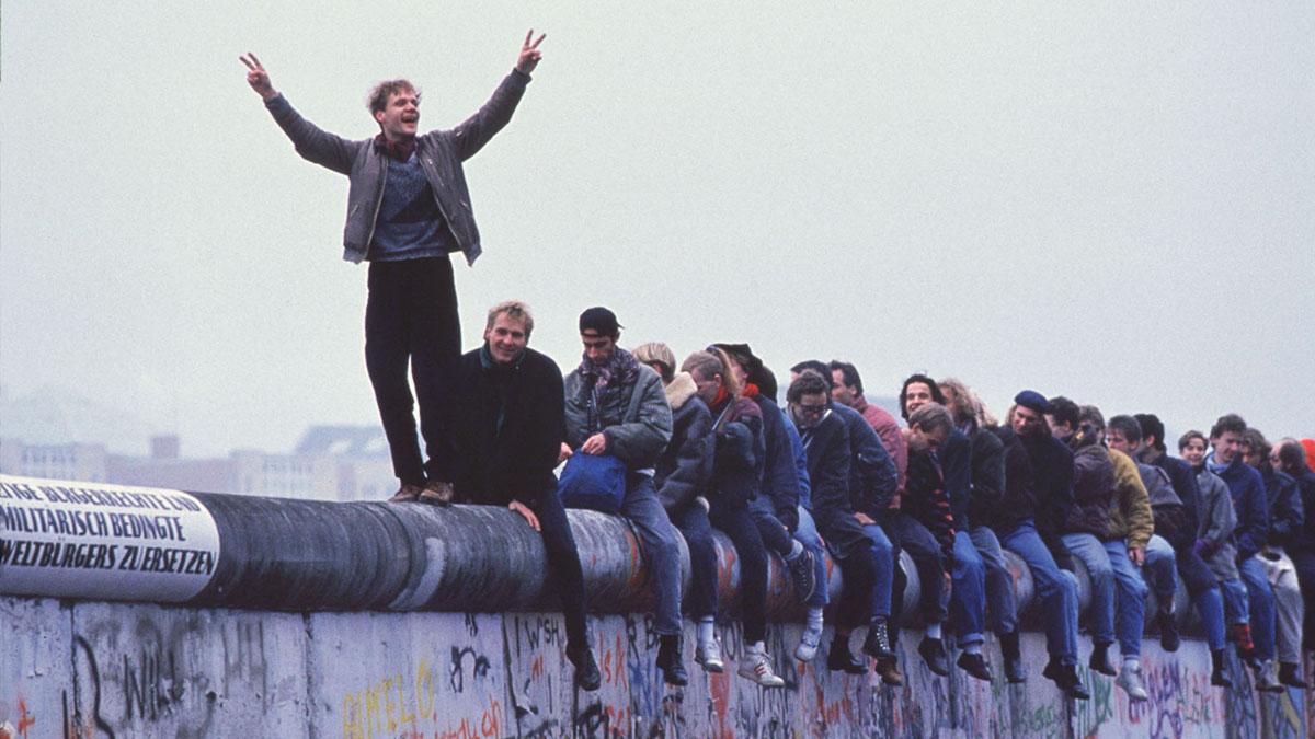 Berlin Wall, East Germany, West Germany