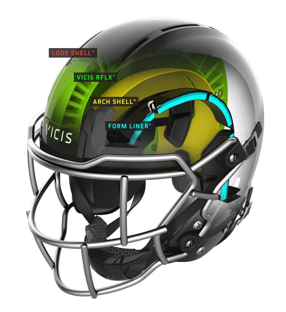 Vicis, Zero1, helmet