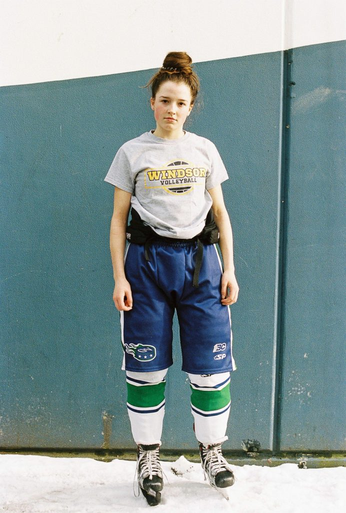 Hockey player Nina Jobst-Smith skates for the Greater Vancouver Comets. (Photo by Alana Paterson)