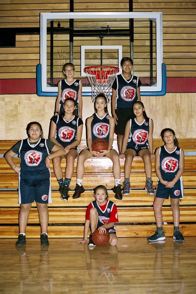 Players from Squamish Nation team in North Vancouver, British Columbia, Canada. (Photo by Alana Paterson)