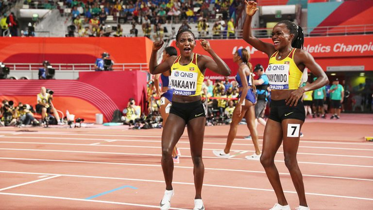 Halimah Nakaayi, Winnie Nanyondo, Uganda, IAAF World Championships