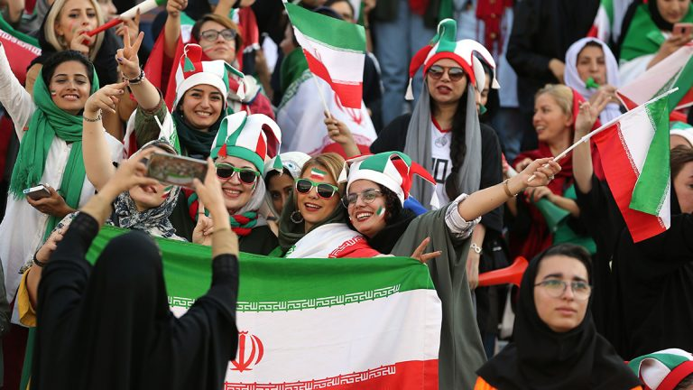Iran, women, World Cup qualifier, attendance