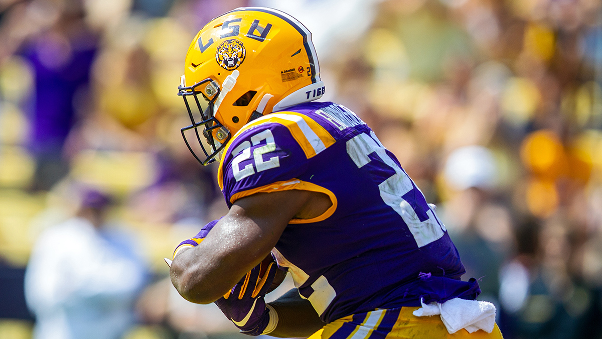 LSU, Clyde Edwards-Helaire