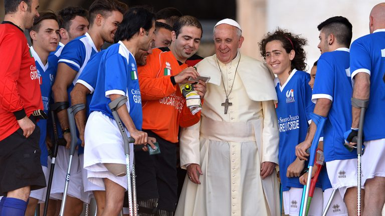 Voices, Pope Francis, sport