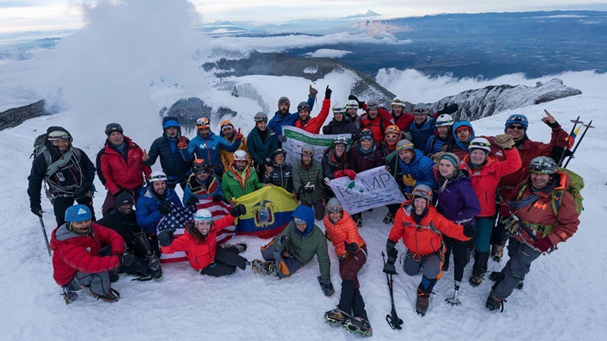 'No summit too high' for amputee climbers
