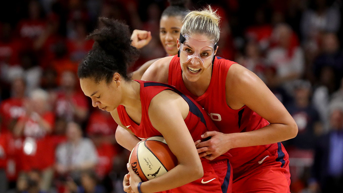 Elena Delle Donne, Washington Mystics