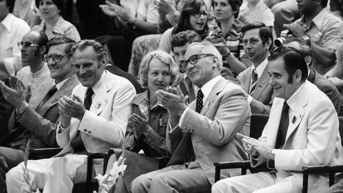 Erich Honecker, Manfred Ewald, East Germany, doping, GDR