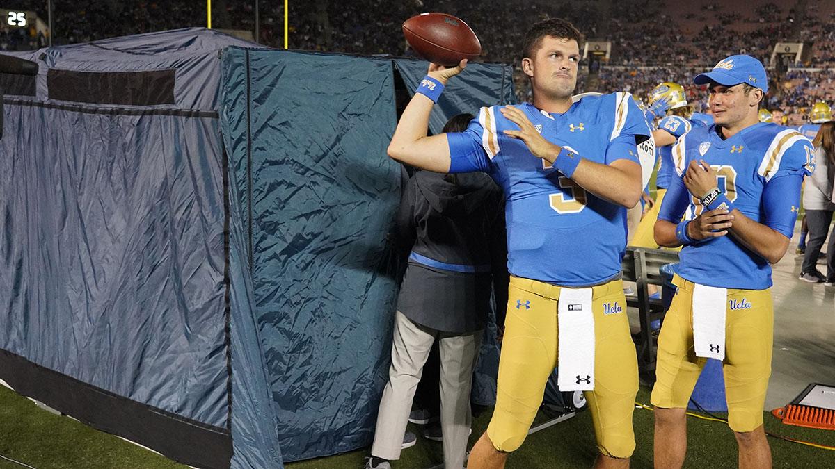 Injury tent, UCLA