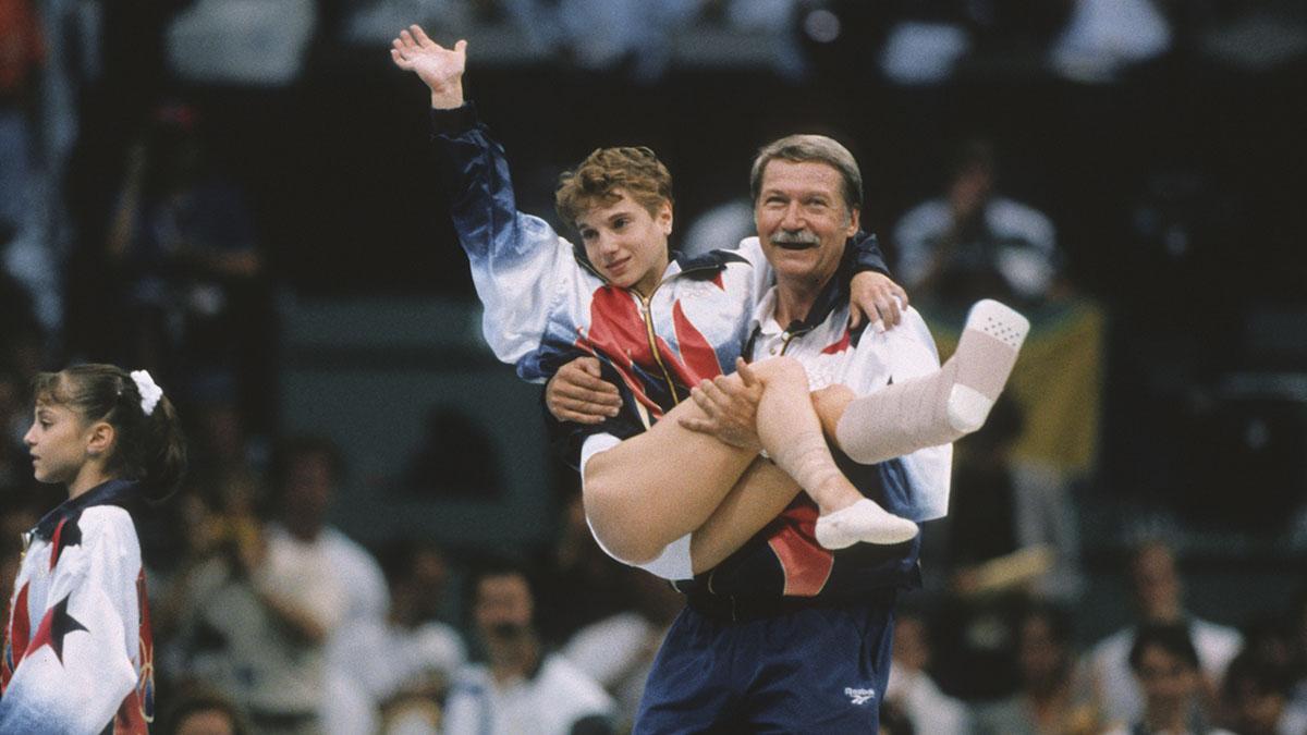 Kerri Strug, Bela Karolyi, 1996 Olympics