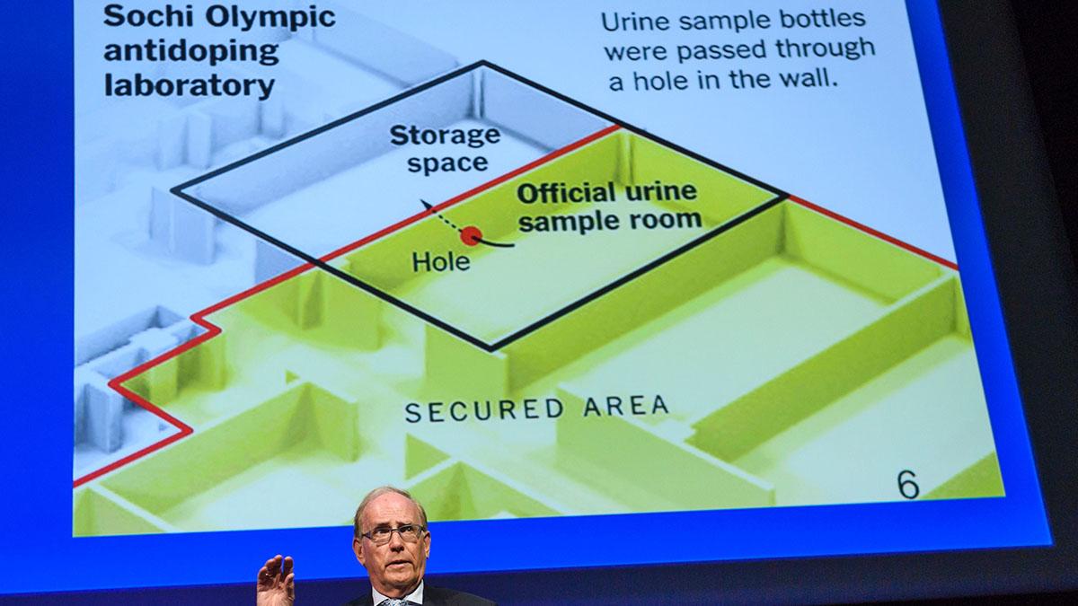 Richard McLaren, Russian, doping, WADA