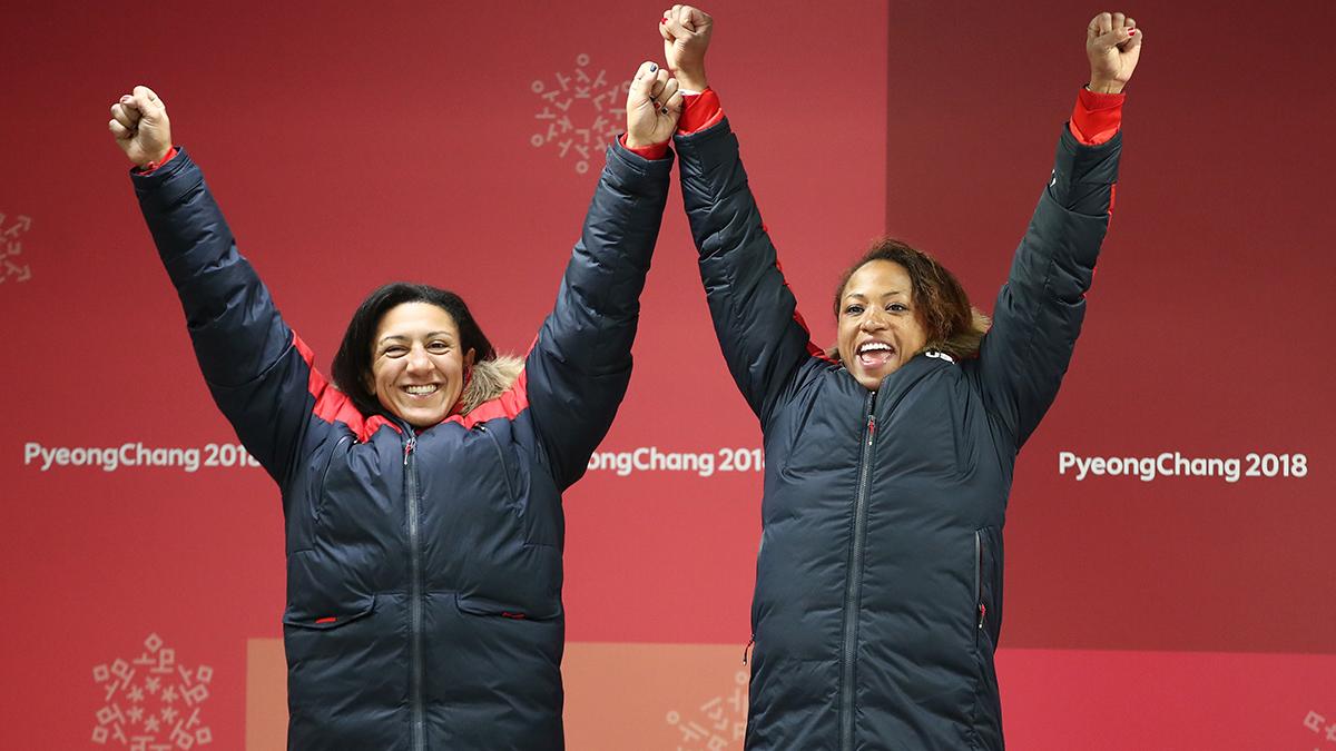Elana Meyers Taylor, Lauren Gibbs, bobsled, Olympics