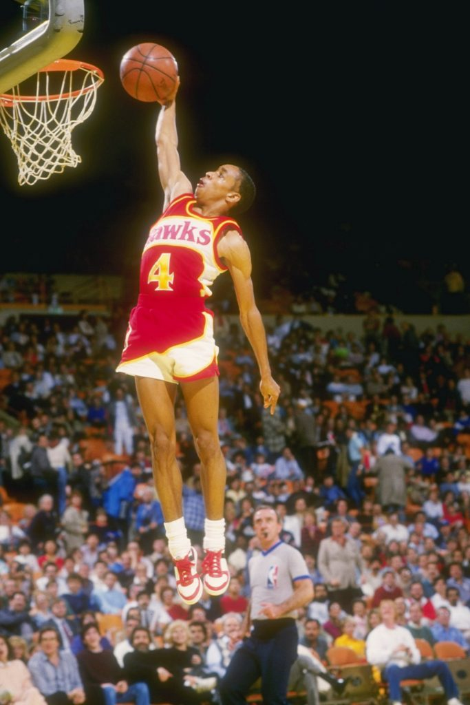 Spud Webb, NBA, Atlanta Hawks