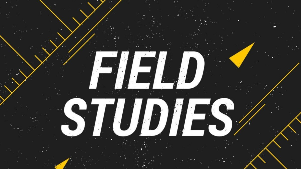 Graphic with the caption field study