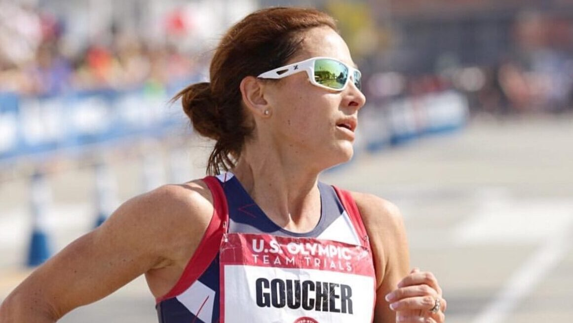 Kara Goucher from the 2016 Olympic marathon trials where she finished 4th