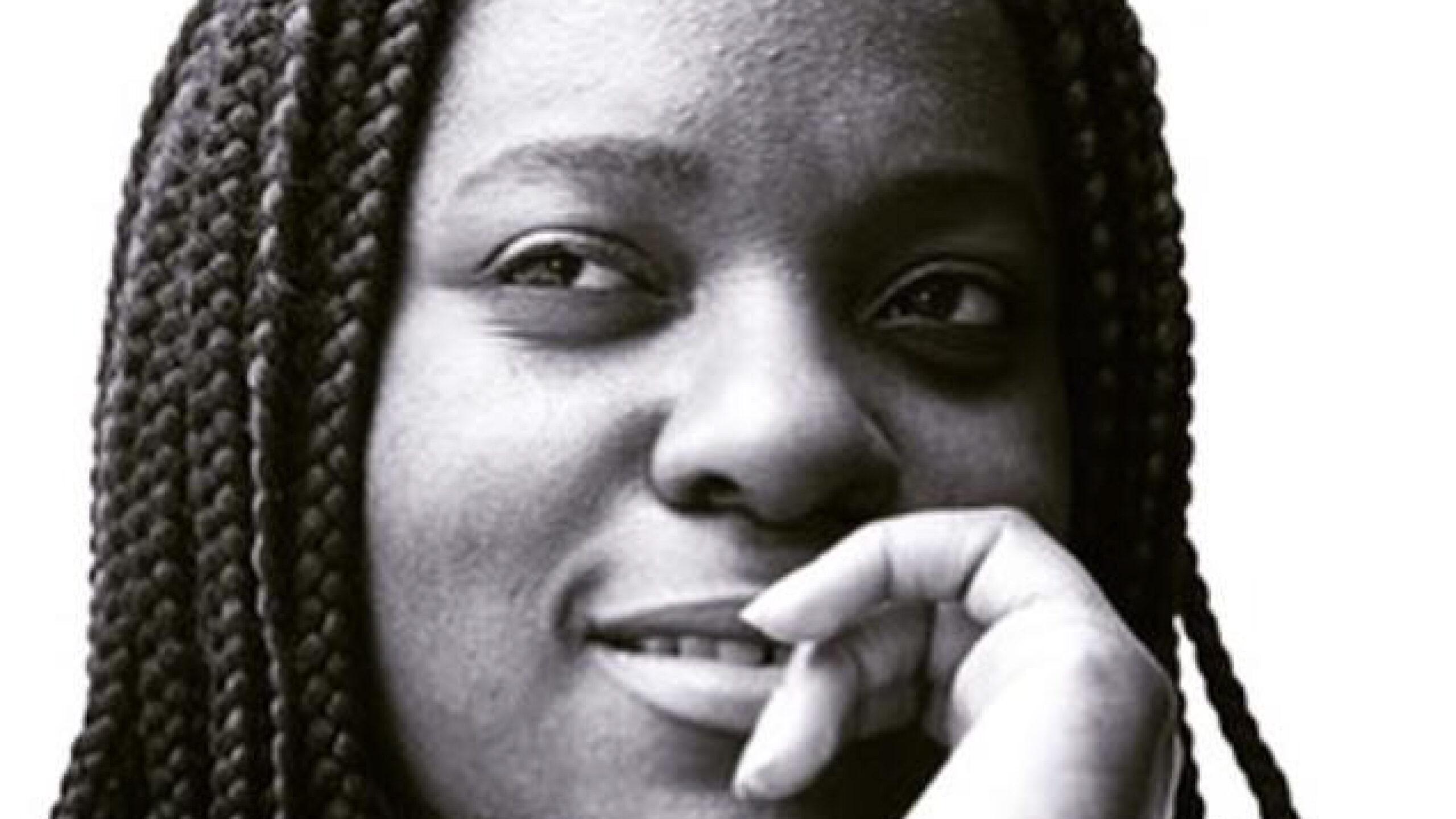 Black and white photo of Maggie Ntim.(Photo Courtesy Maggie Ntim)