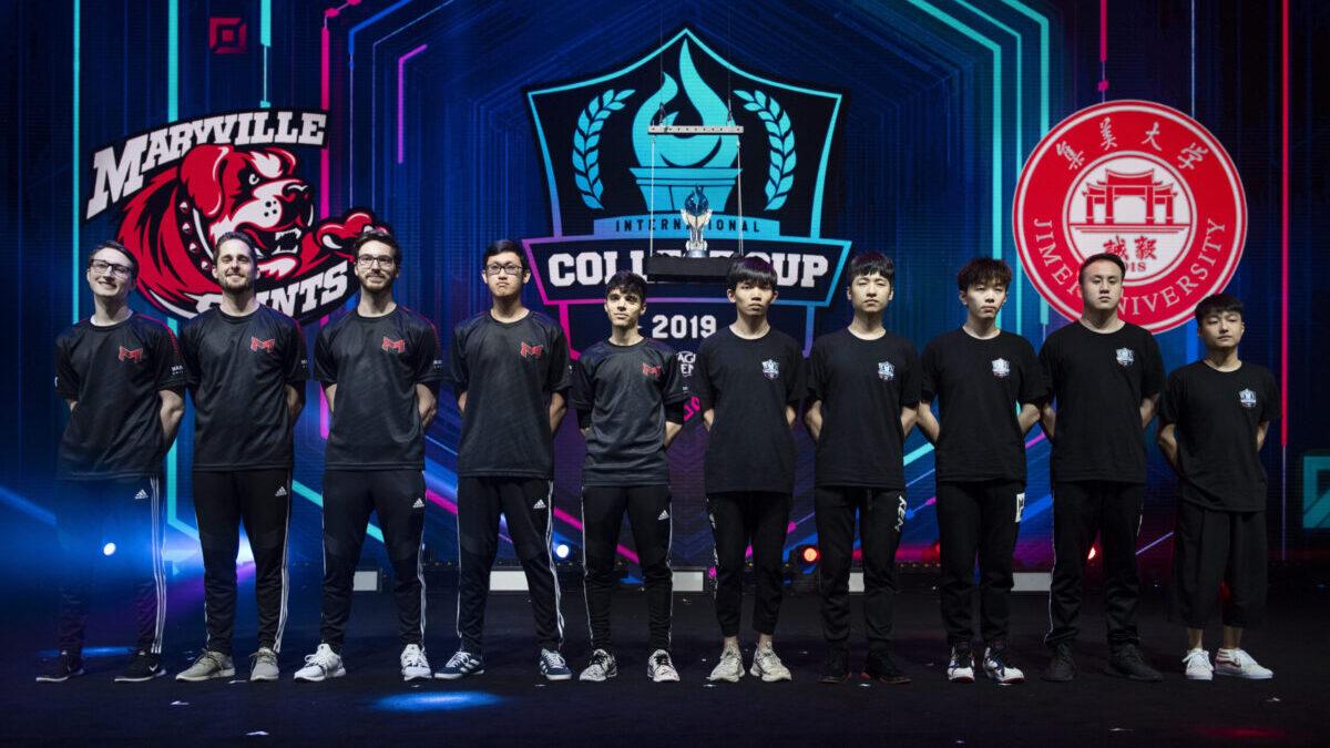 League of Legends International College Cup final match