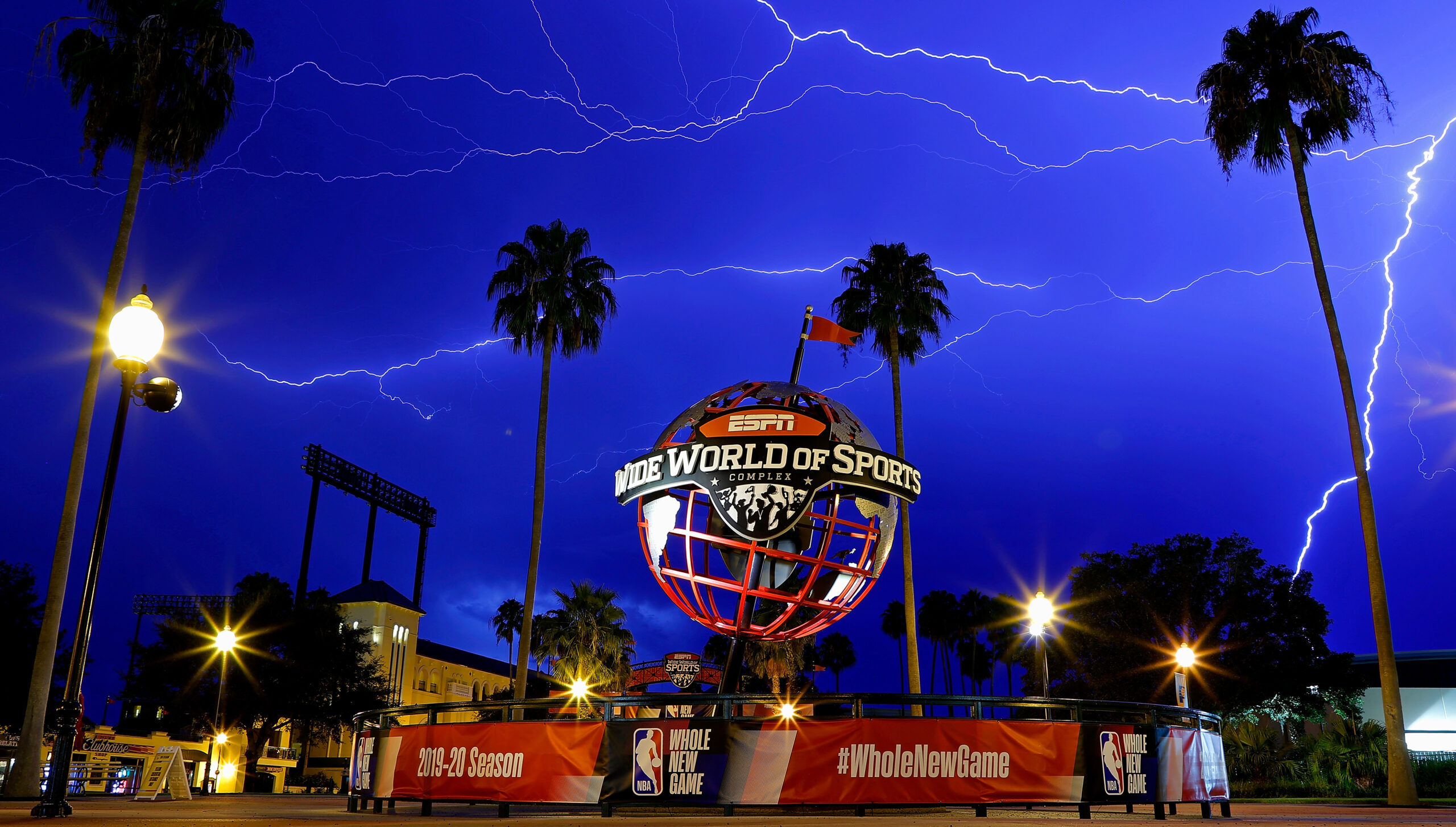 ESPN Wide World of Sports at Disney sports complex for the 2019-20 basketball season