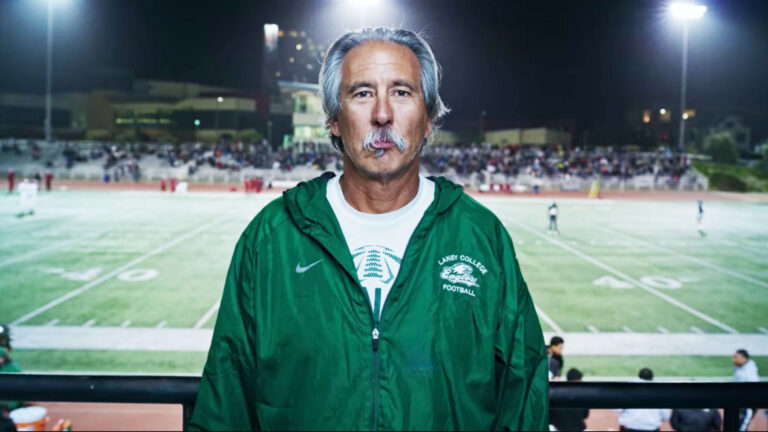 Head coach of Laney College, John Beam. (Photo courtesy John Beam)