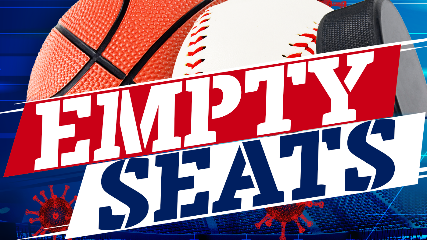 Colorful graphic that states empty seats.