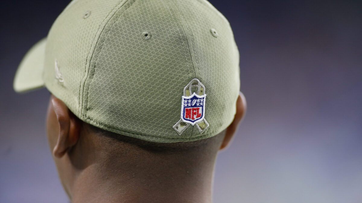 NFL Veterans Day baseball cap