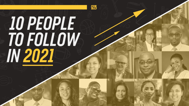 10 People to Follow in 2021 logo