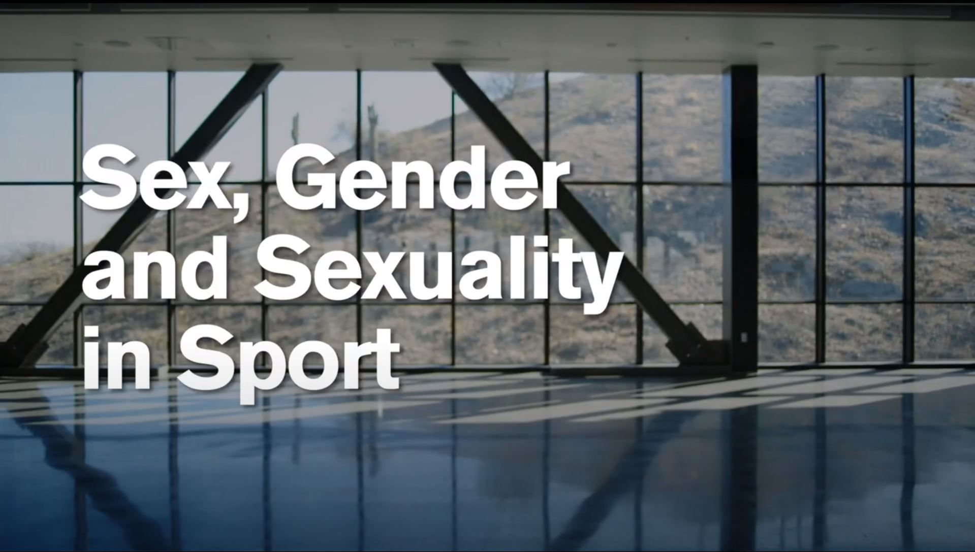 Sex, Gender and Sexuality in Sports