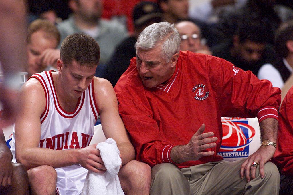 Indiana coach Bobby Knight