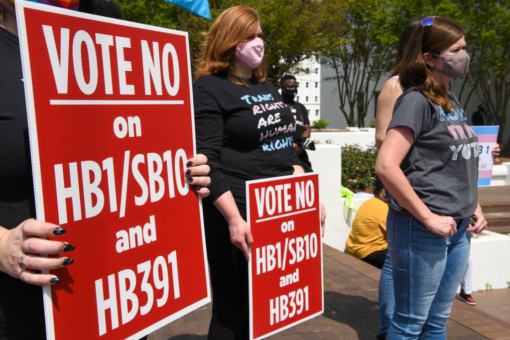 Protests against anti-trans legislation