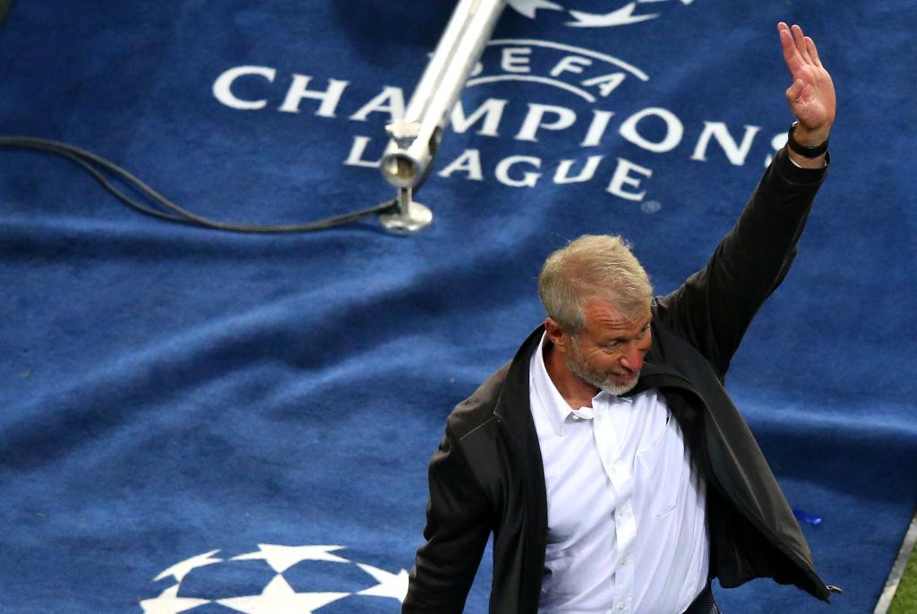 Soccer owner Roman Abramovich
