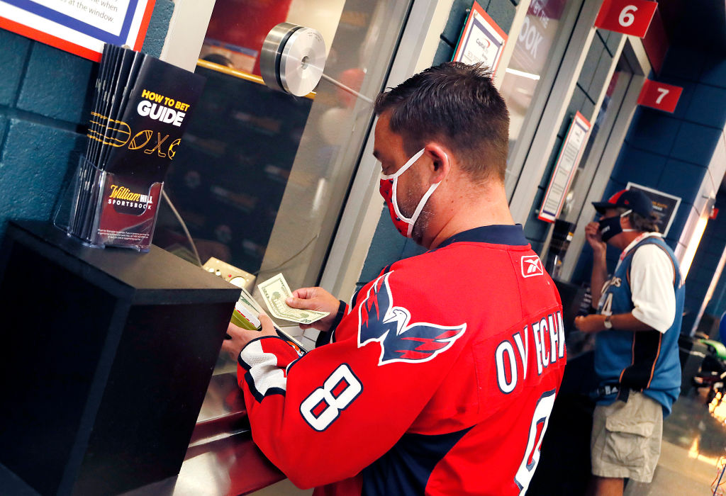 Sports betting at Capitol One Arena
