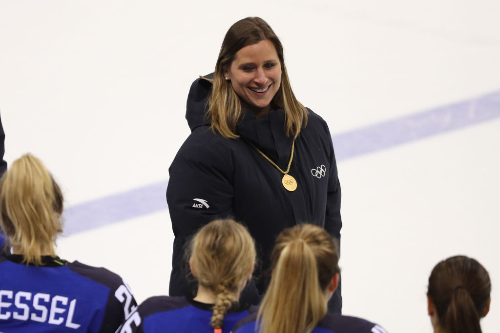 Women's hockey star Angela Ruggiero