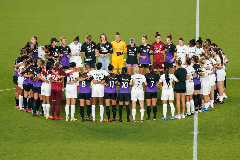 NWSL protest